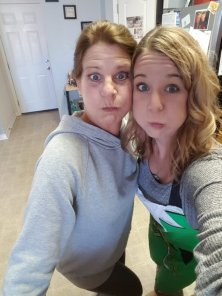 funny faces mom and I